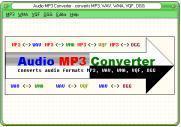 audio mp3 converter - converts MP3, WAV, WMA, VQF, OGG