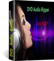 DVD Audio Ripper - convert DVD to MP3