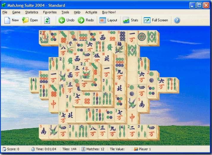 MahJong Suite 2005, Download MahJong Solitaire Games Suite