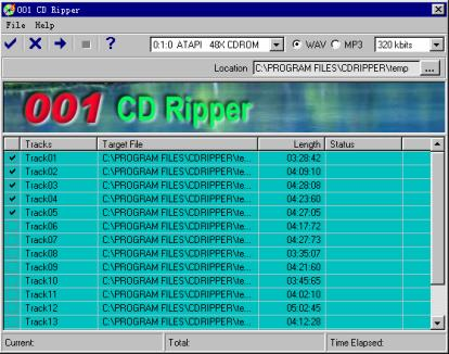 001 CD Ripper