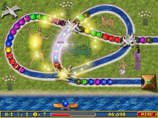 العبة الرائعة Luxor 2 Deluxe